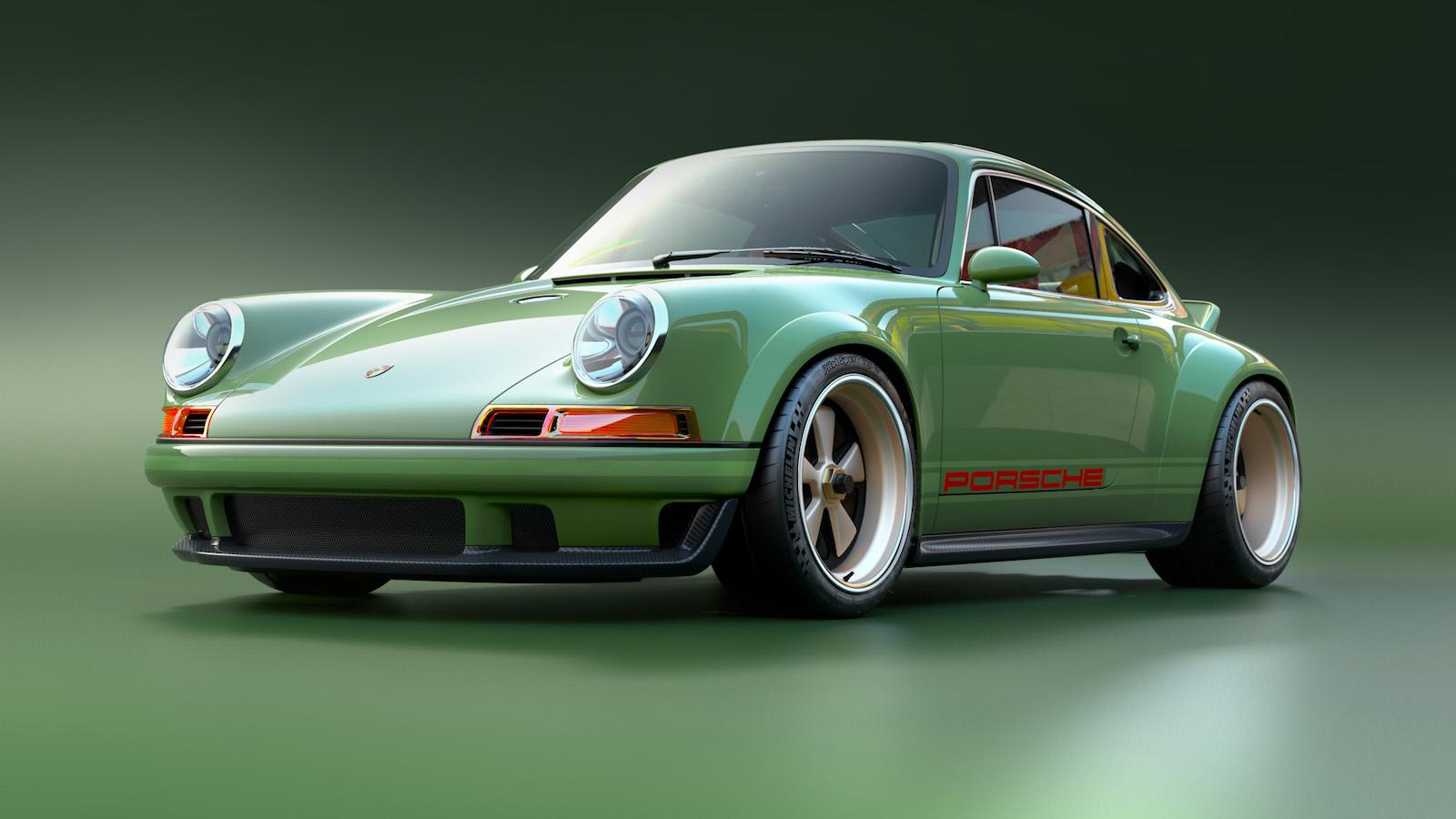 Porsche restored by Singer and Williams – with 500bhp!