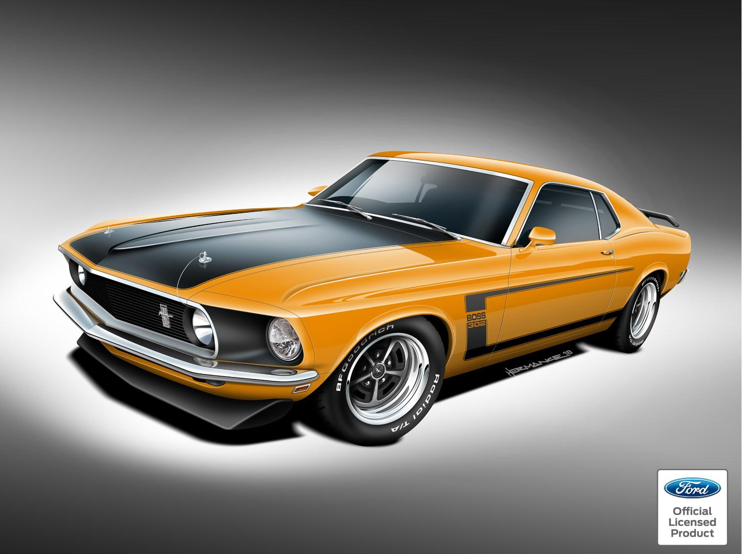 Ford-Sanctioned Mustang Boss 429 to Be Revived for 2018 SEMA Show