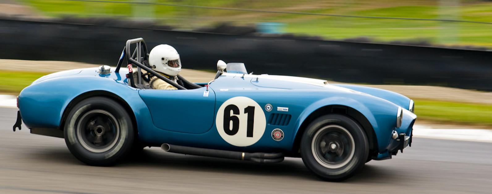 Ex-racer sues DVLA for ruling '1964' Cobra was built in 2002