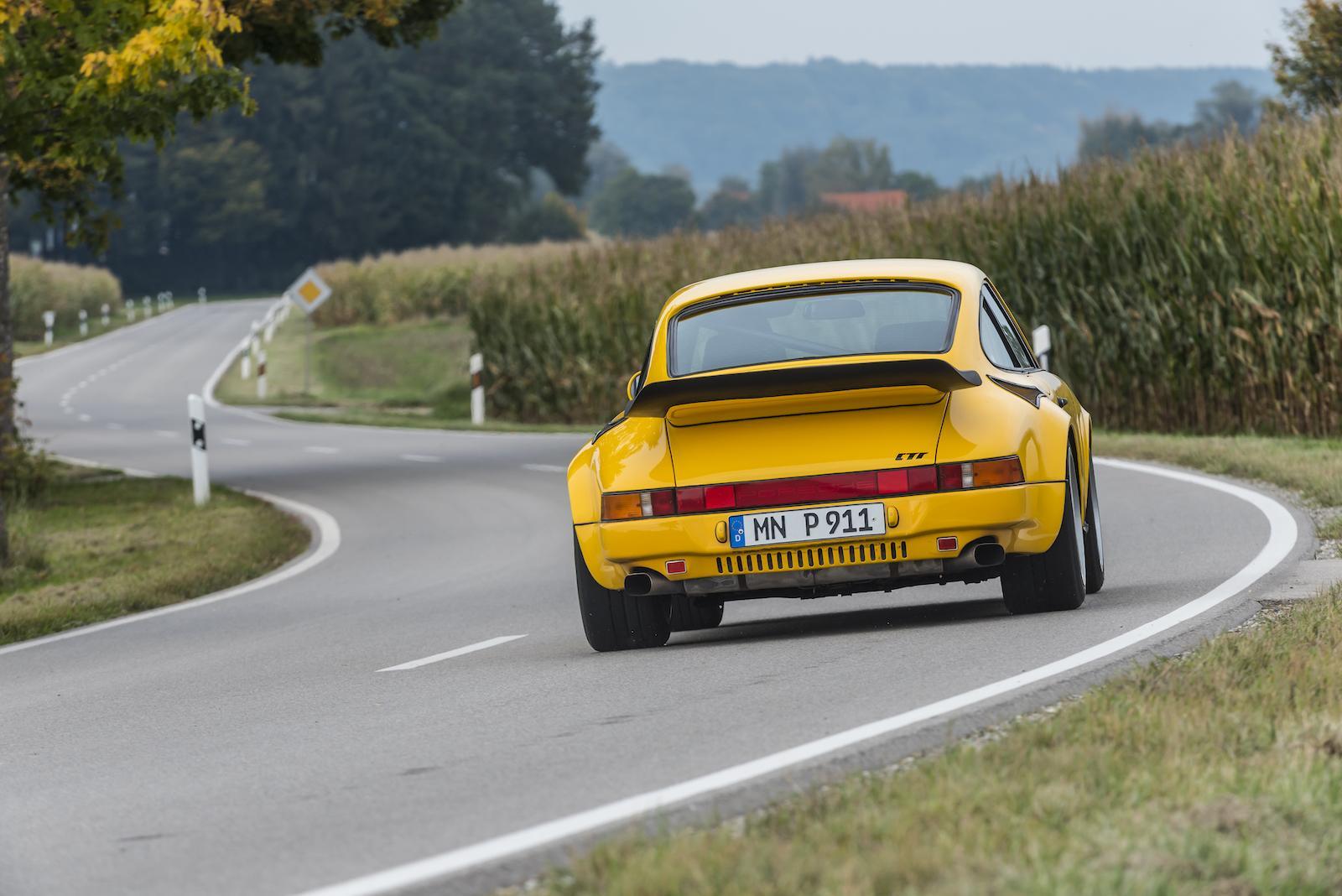 RUF's Yellowbird Porsche flies again!