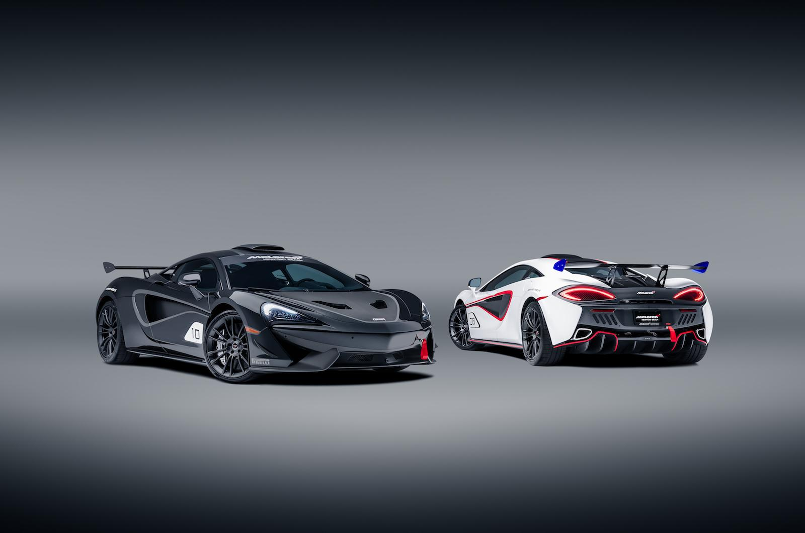 McLaren release 10 GT4-inspired 570S with classic racing liveries