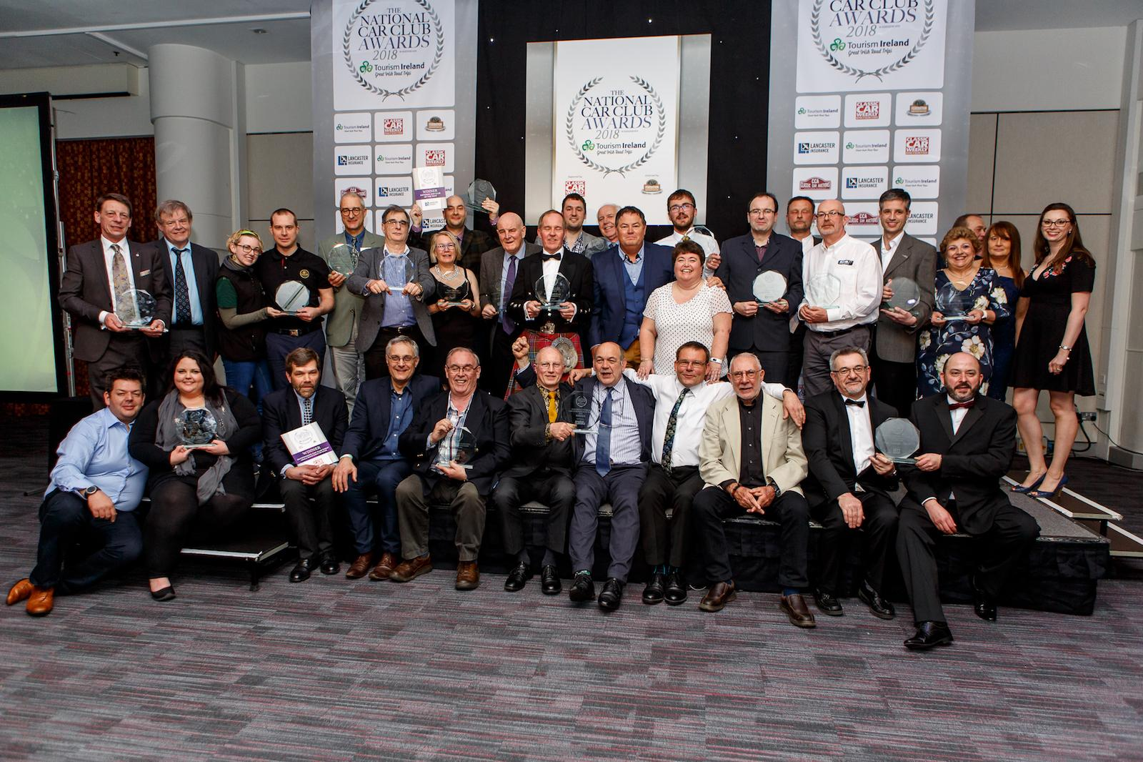 Sir Stirling Moss honoured at National Car Club Awards