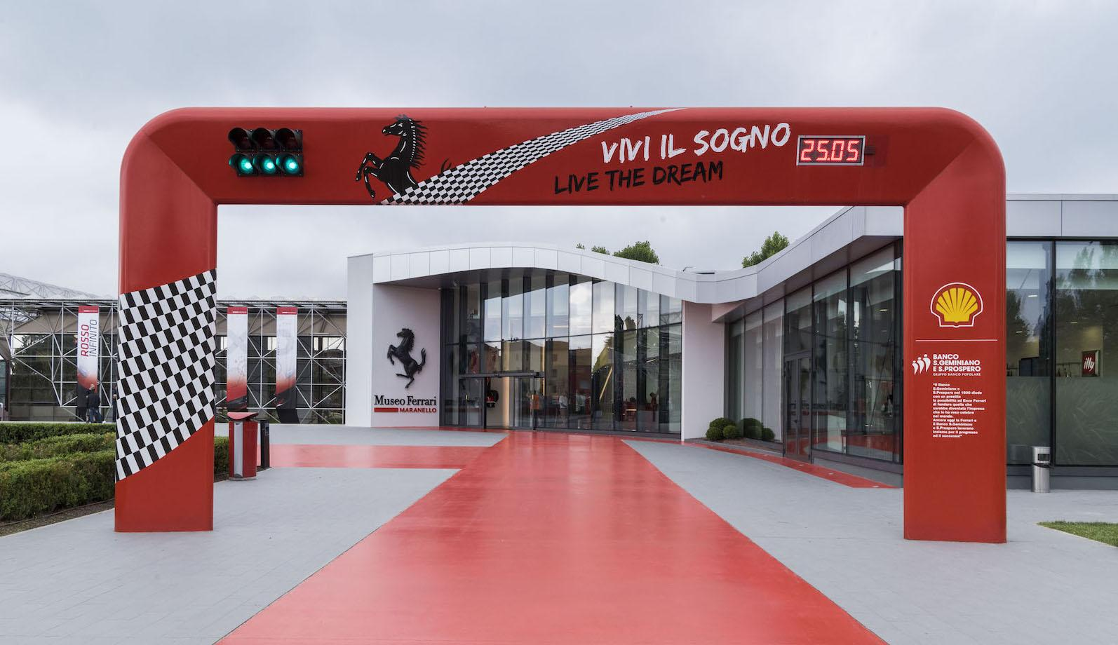 Record visitor numbers to Ferrari museums
