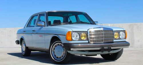 Throwback Tuesday: Mercedes W123 240D