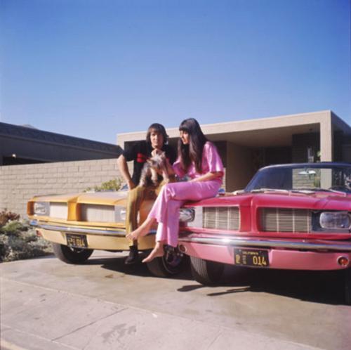 We've got two, babe! Sonny and Cher's custom Mustangs