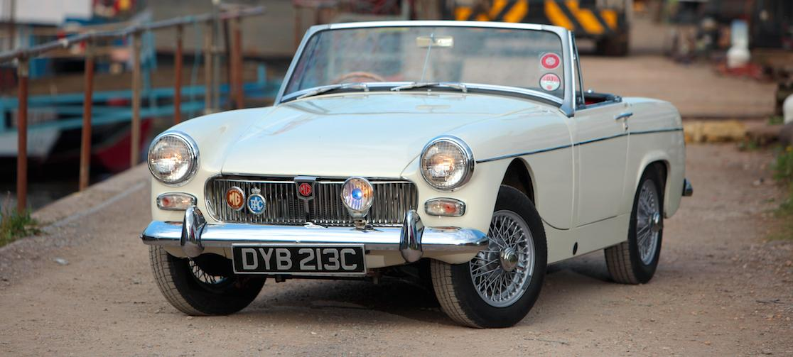 Mg midget leverarm conversion