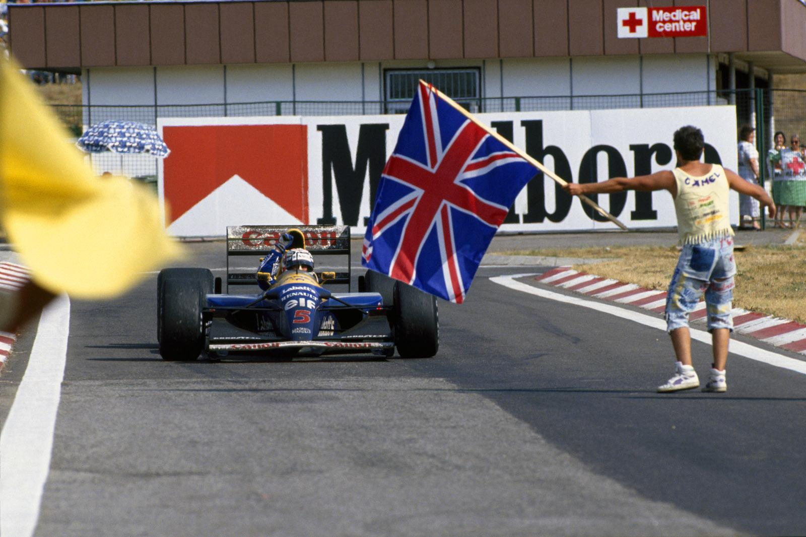 Top 10 most memorable Nigel Mansell moments