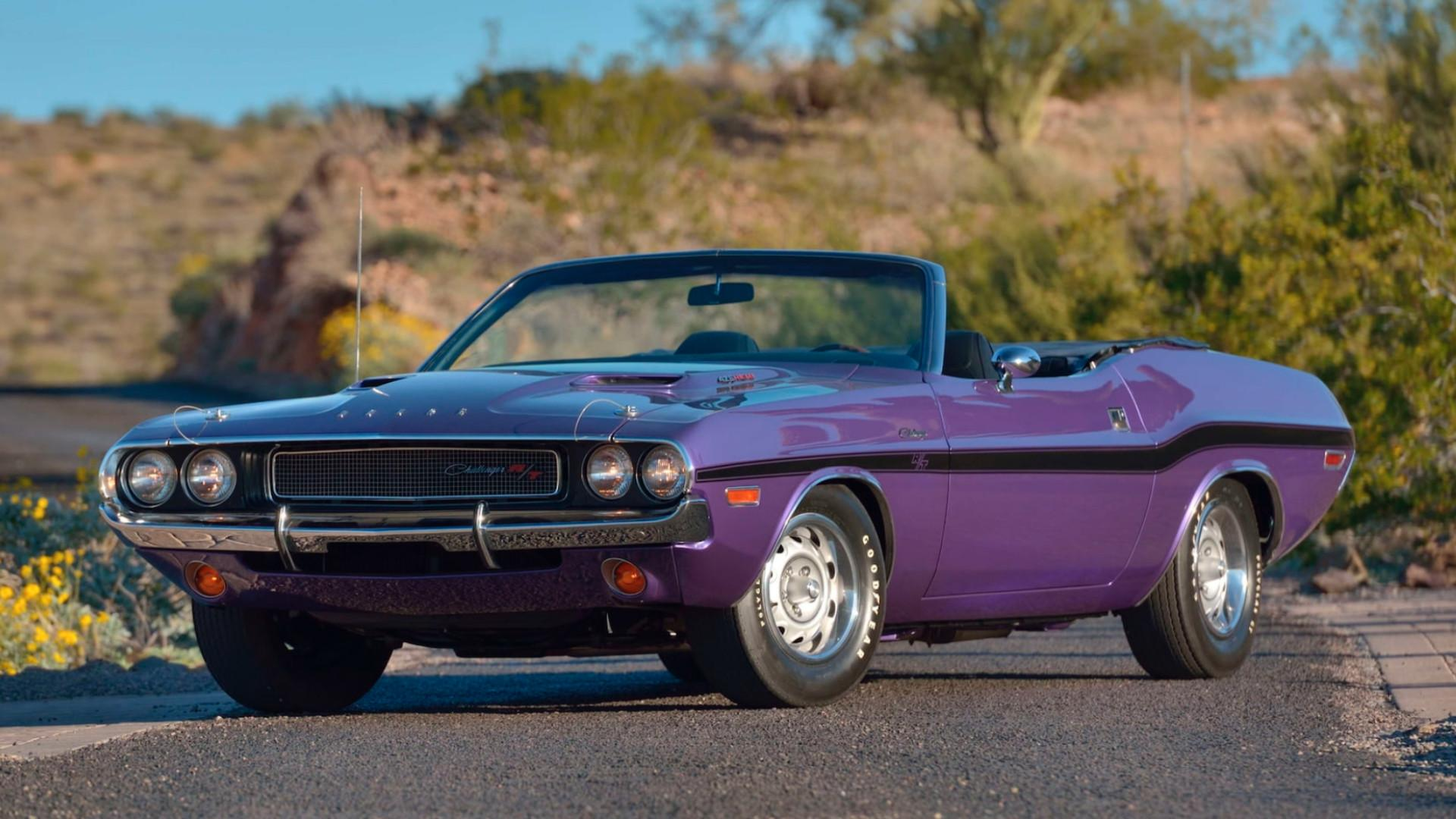 Rare 1970 Plum Crazy Purple Dodge Challenger R/T needs new owner