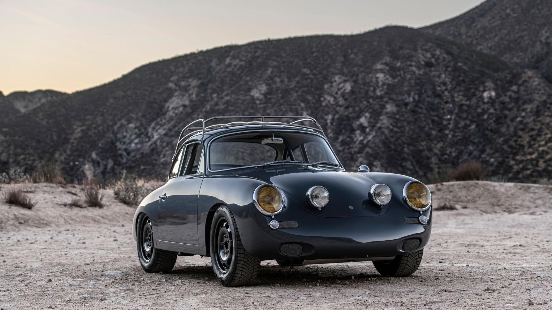 """First Ever All-Wheel Drive Porsche 356 """"C4S"""""""