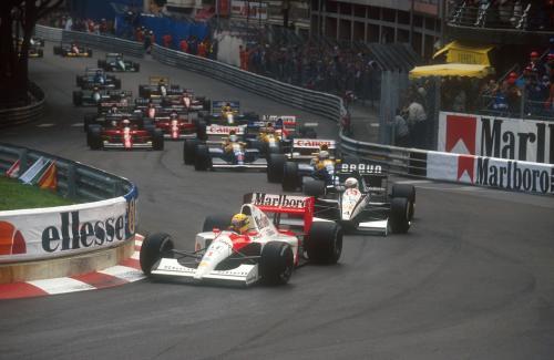 LAT Archive: Ayrton Senna's six-time Monaco GP winning brilliance