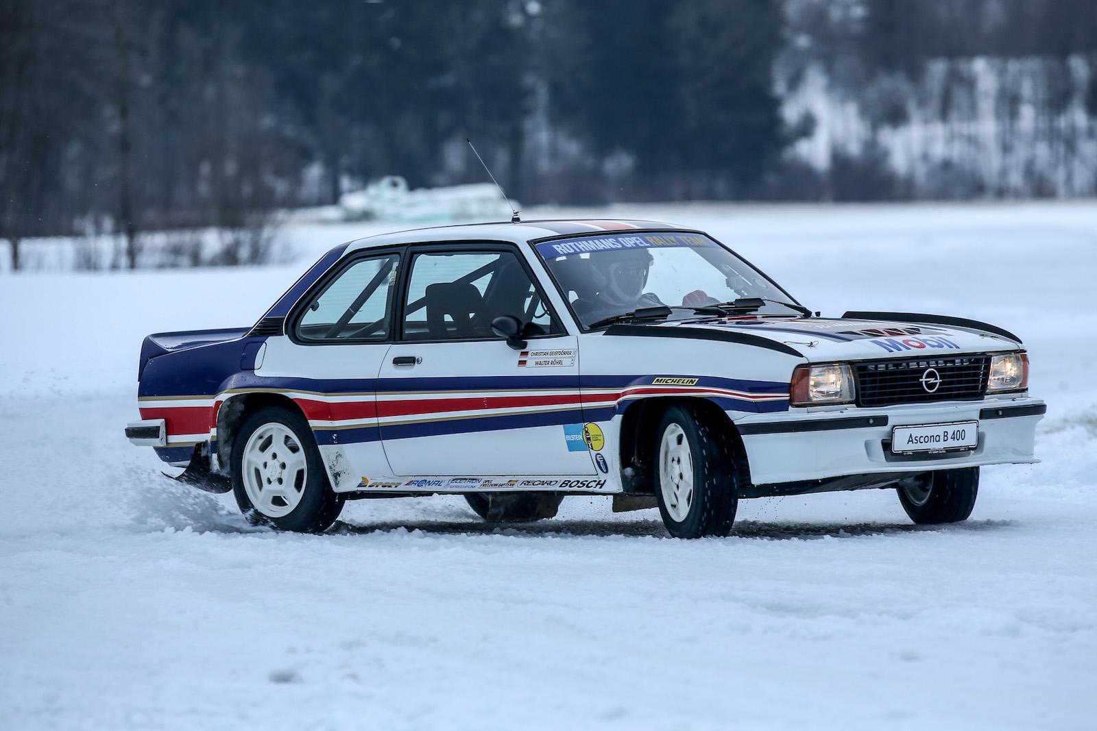 Driving Walter Röhrl's Opel Ascona 400 rally car