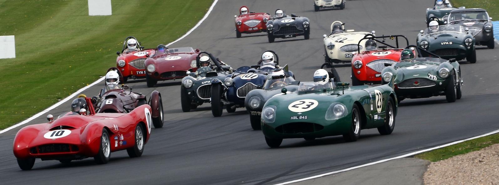 Donington Historic Festival race line-up announced