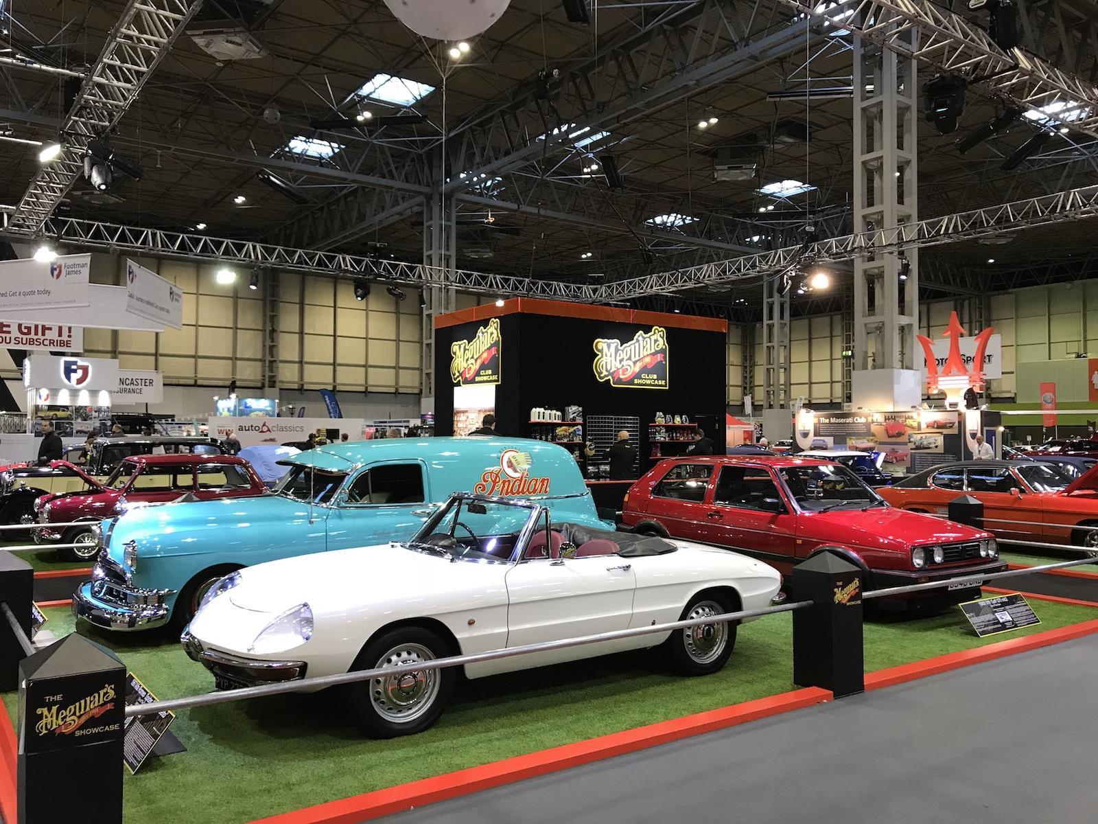 Huge variety at the NEC Classic Motor Show