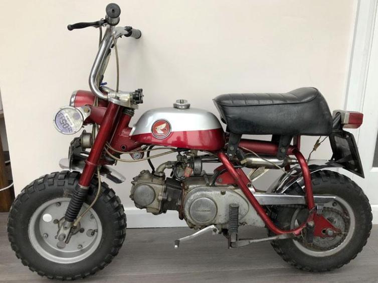 John Lennon's Monkey bike to be auctioned