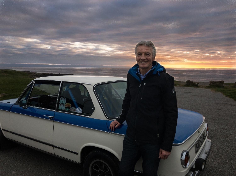 F1 presenter Tony Jardine to try Europe's toughest classic rally