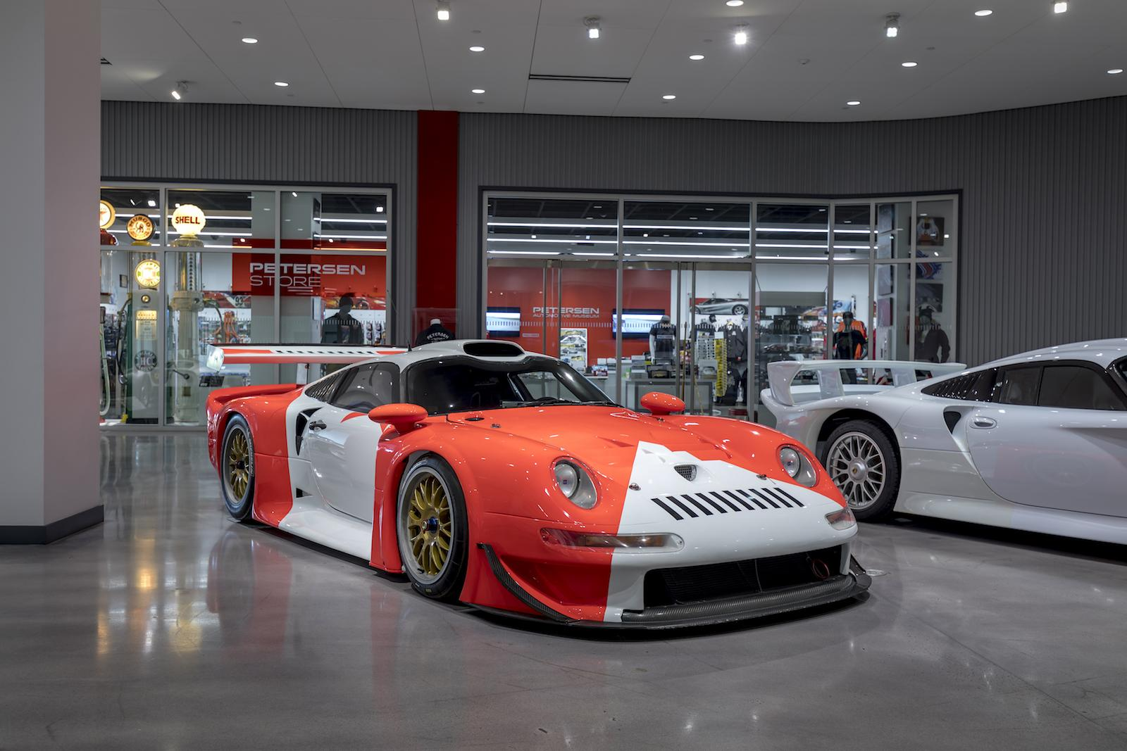 The Porsche GT1 Was The First Mid Engine 911 Derivative And The First To  Use An Entirely Water Cooled Engine. Based On The Factory Backed GT1s That  Took 2nd ...