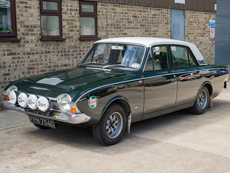Classifieds Hero: Rally-prepared 1965 Ford Corsair V4