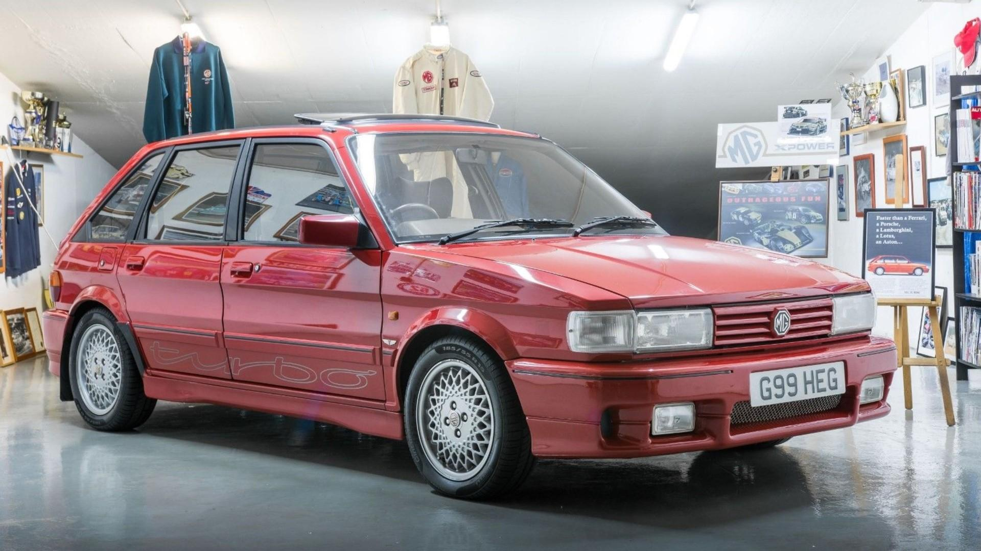 Stunning rare Tickford-tuned MG Maestro Turbo up for grabs