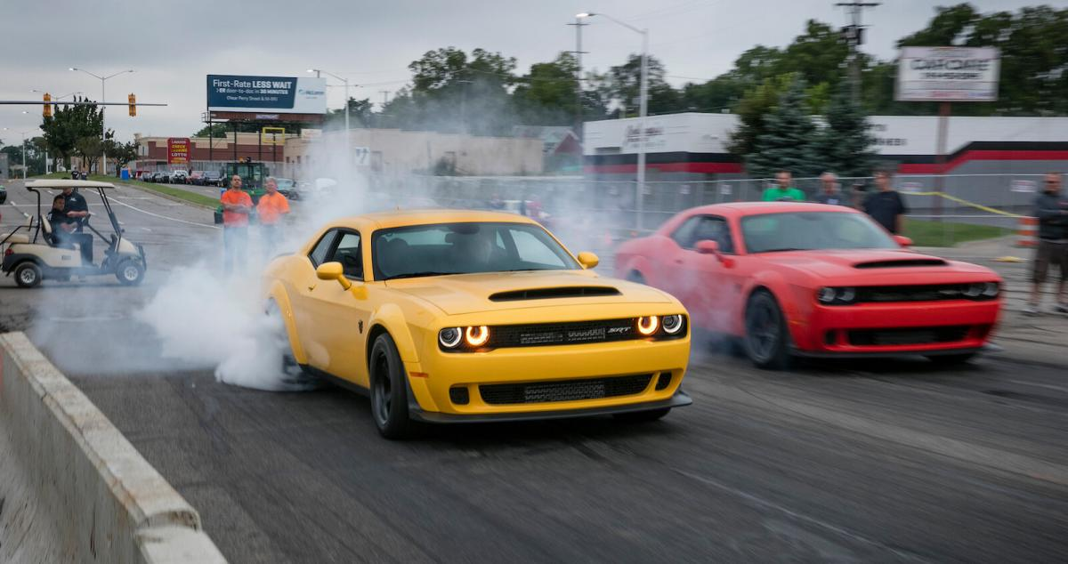 Fancy a go at legal street racing with Dodge? Here\'s how ...