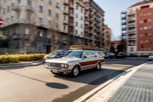 Agnelli's one-off Fiat 130 station wagon