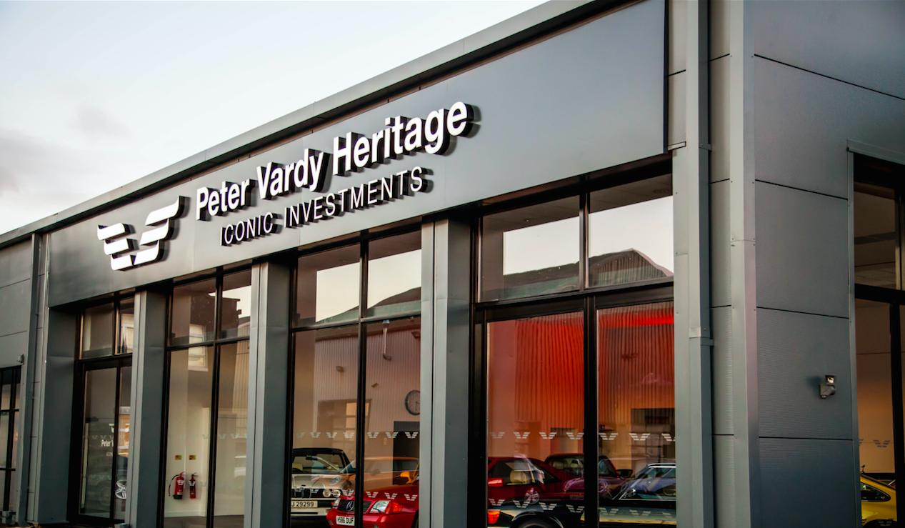 Peter Vardy Heritage opens Edinburgh showroom