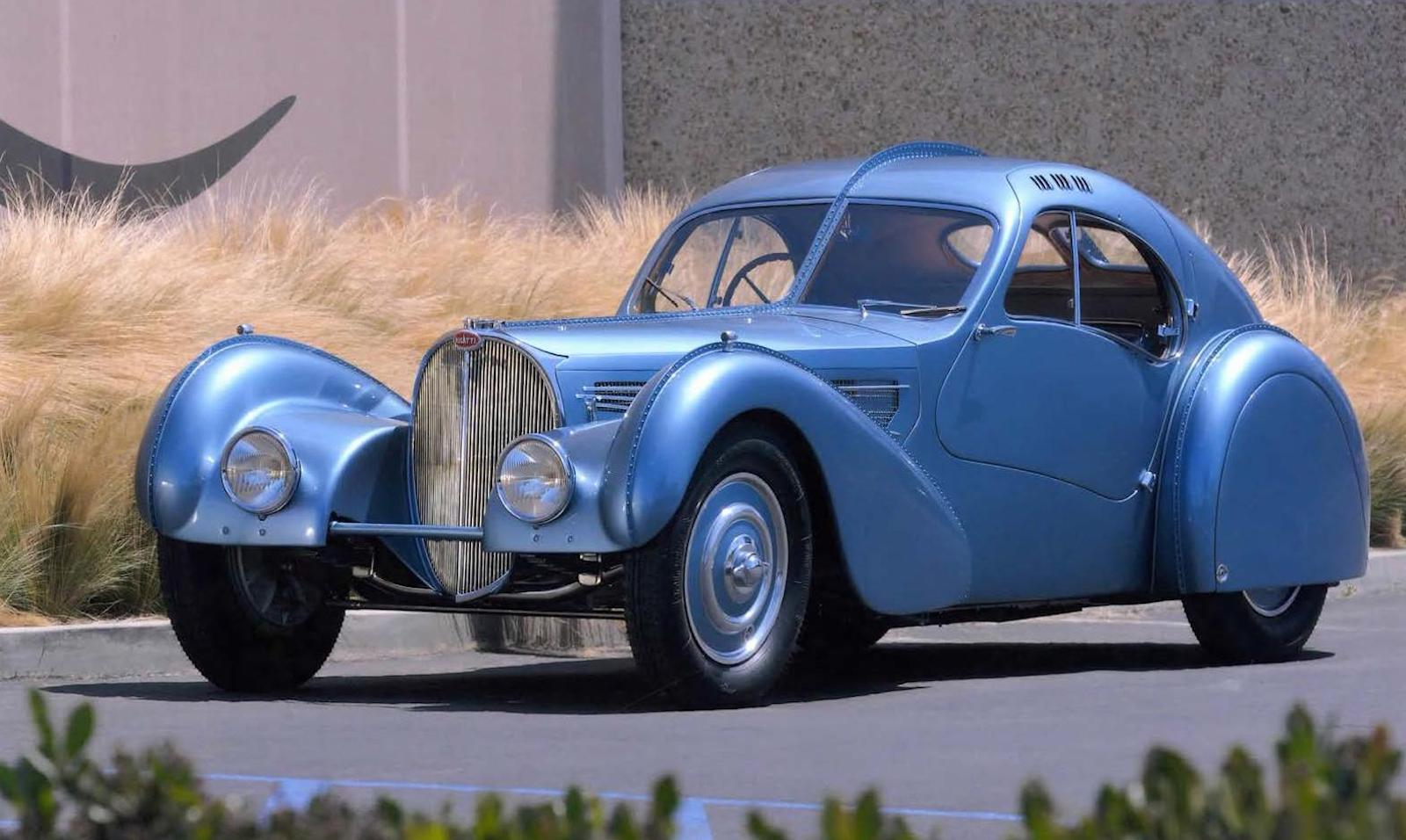 The best car in the world is the... Bugatti Atlantic!