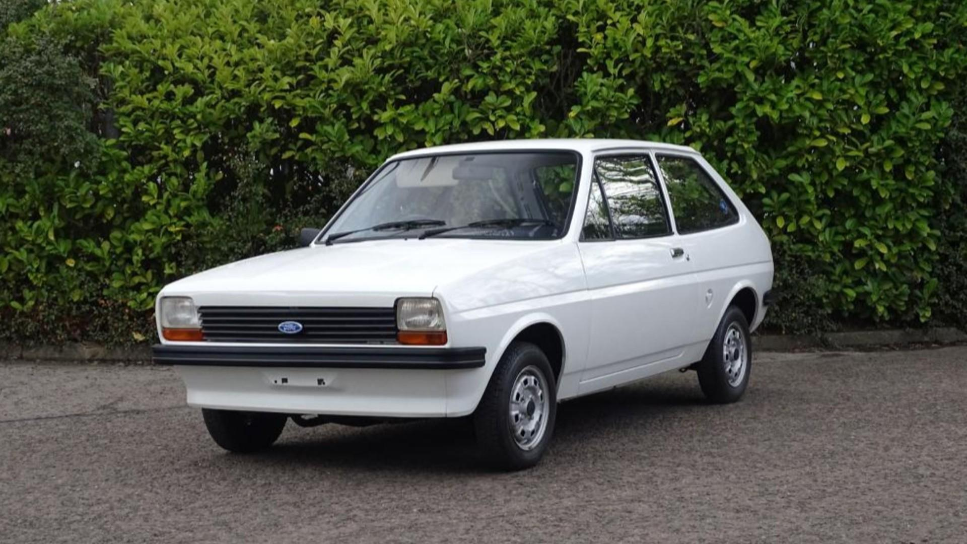Time-capsule 1978 Ford Fiesta has done only 141 miles since new