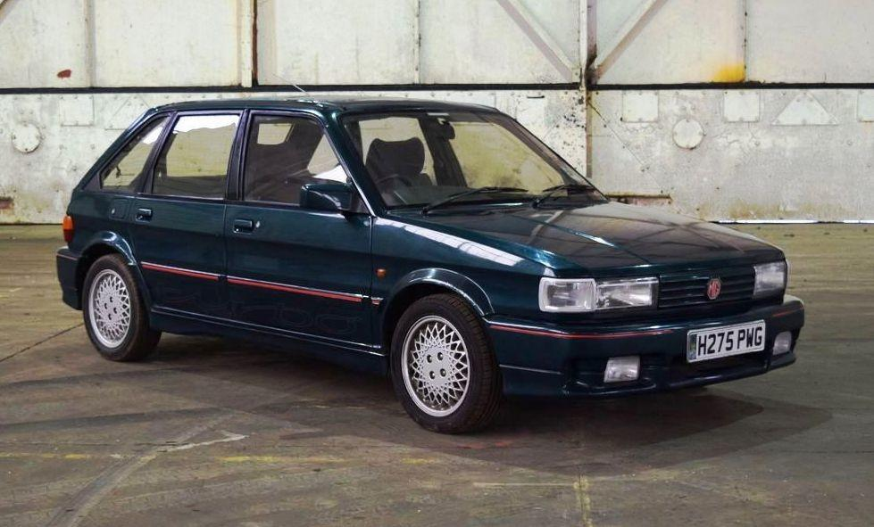 MG Maestro Turbo at Bicester Heritage auction