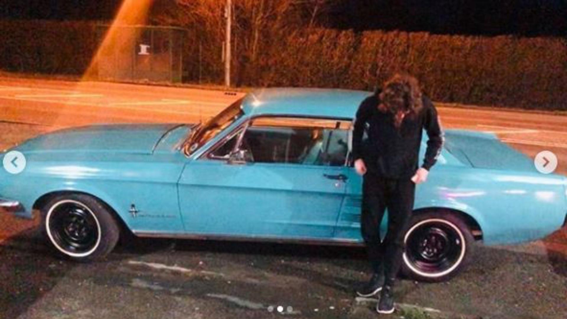 Soap Star Joe Warren-Plant Brings Home Classic Mustang