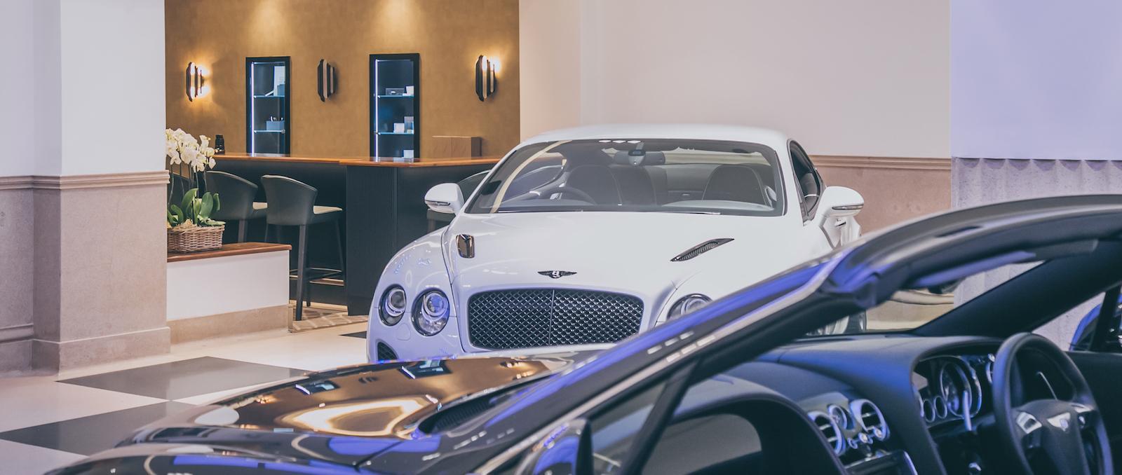 Look at the world's oldest Bentley showroom now!