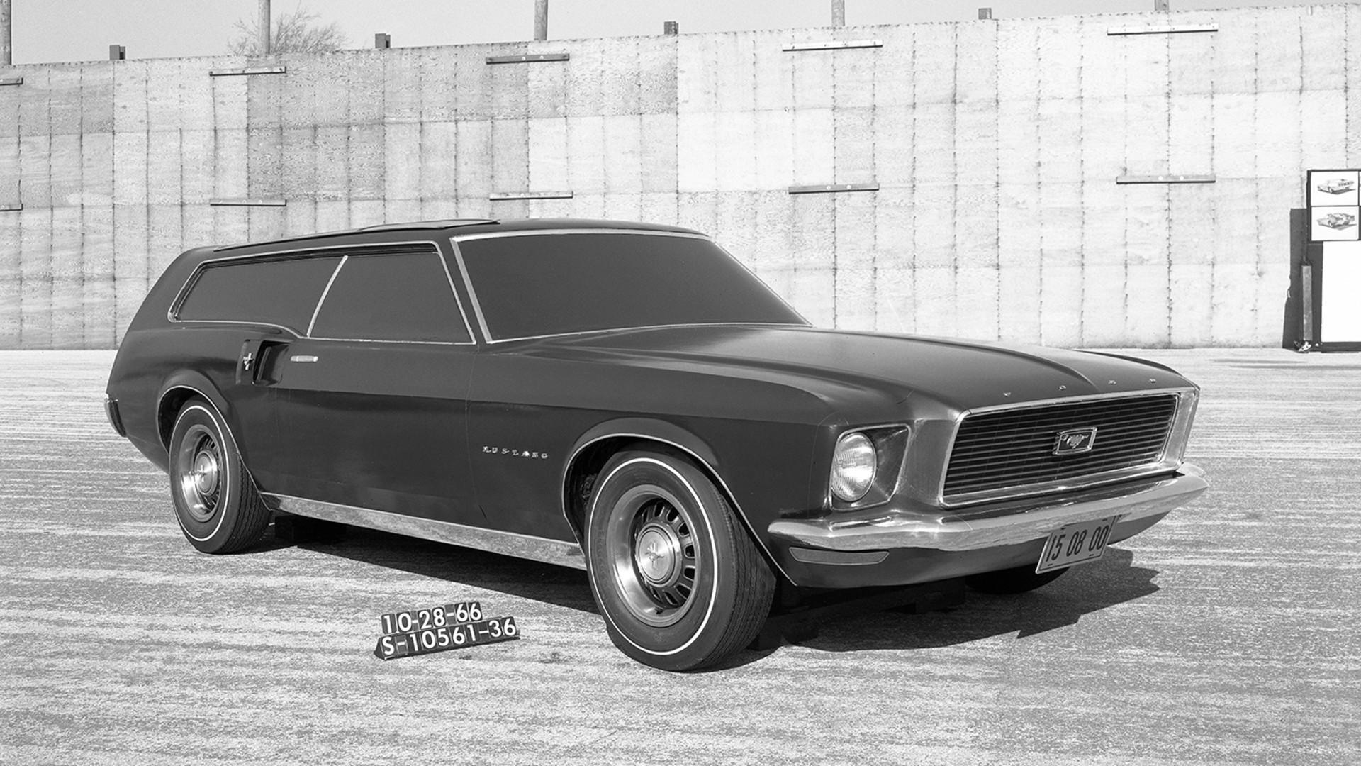 13 long lost ford mustang concept cars