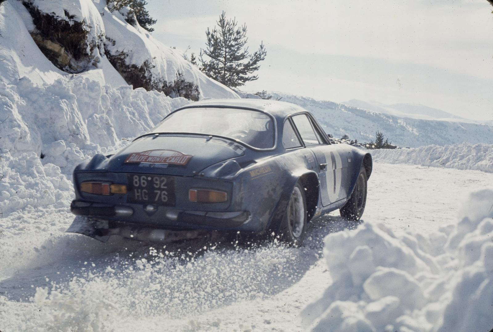 When the Alpine A110 ruled the world