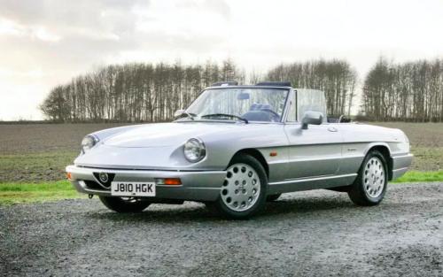 Classifieds Hero: 1992 Alfa Romeo Spider 2.0