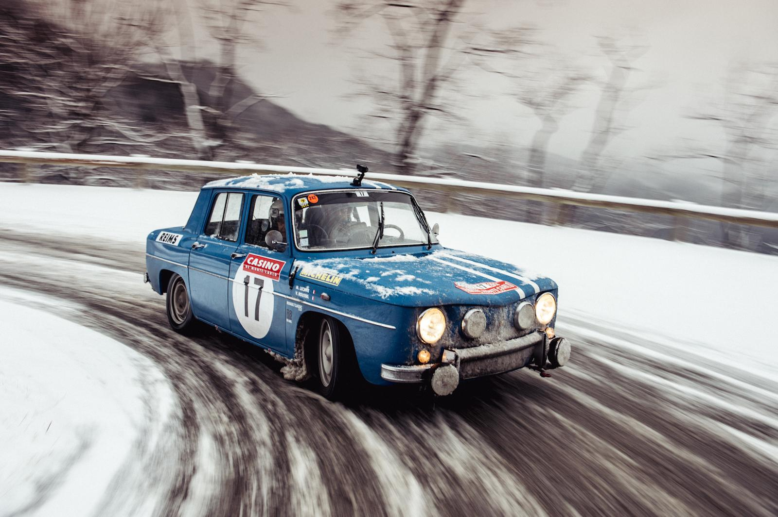 Renault 8 Gordini and its driving greats return to the Monte