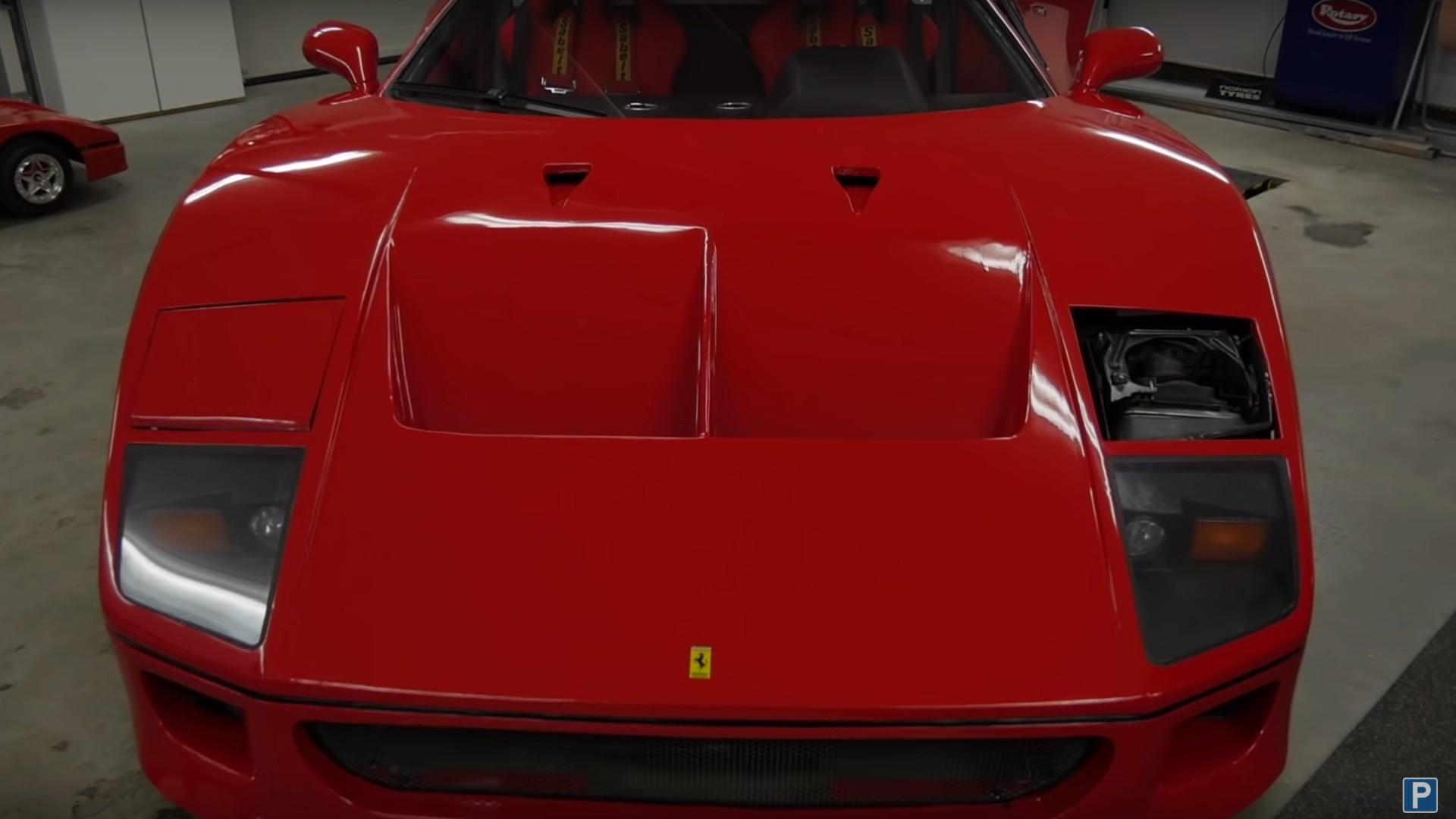 This Man Built A Homemade Ferrari F40 In His Garage